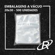 Embalagens a Vácuo lisa 20x30x12 - 500 und