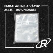 Embalagens a Vácuo lisa 25x35x12 - 100 und
