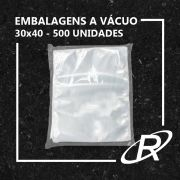 Embalagens a Vácuo lisa 30x40x12 - 500 und