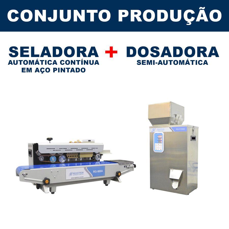 Dosadora e Seladora Automática (RG-FM500 - RG-900A)