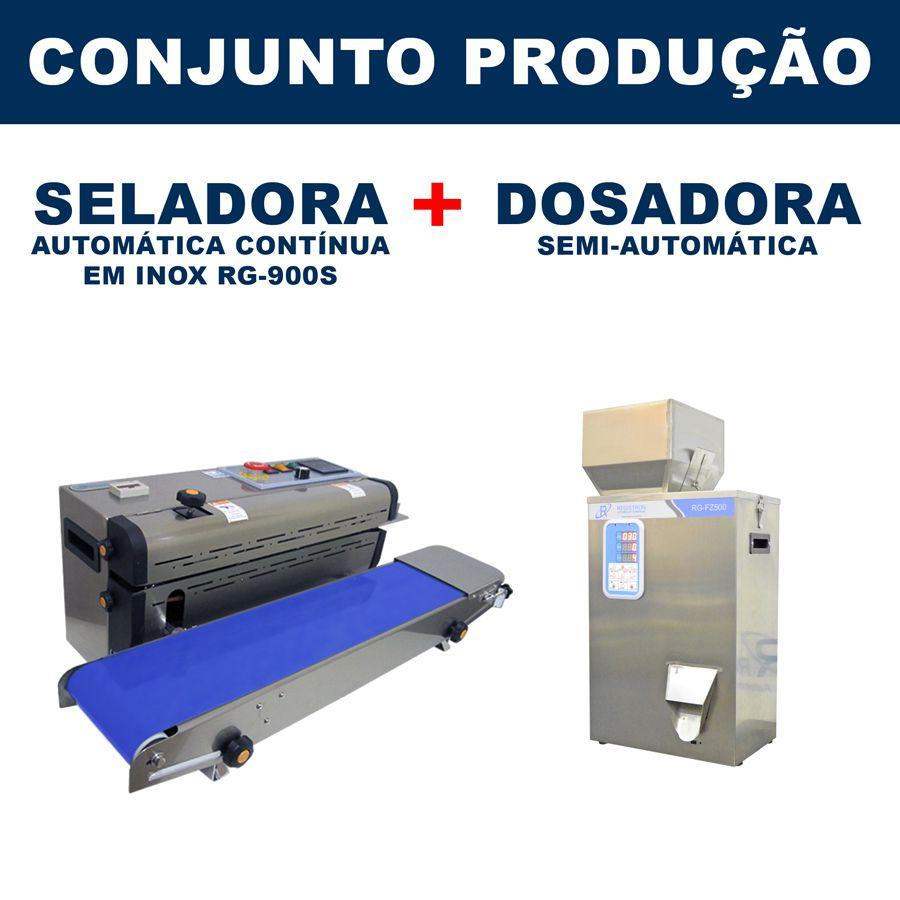 Dosadora e Seladora Automática (RG-FM500 - RG-900S)