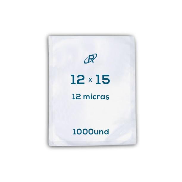 Embalagens a Vácuo lisa 12x15x12 - 1000 und