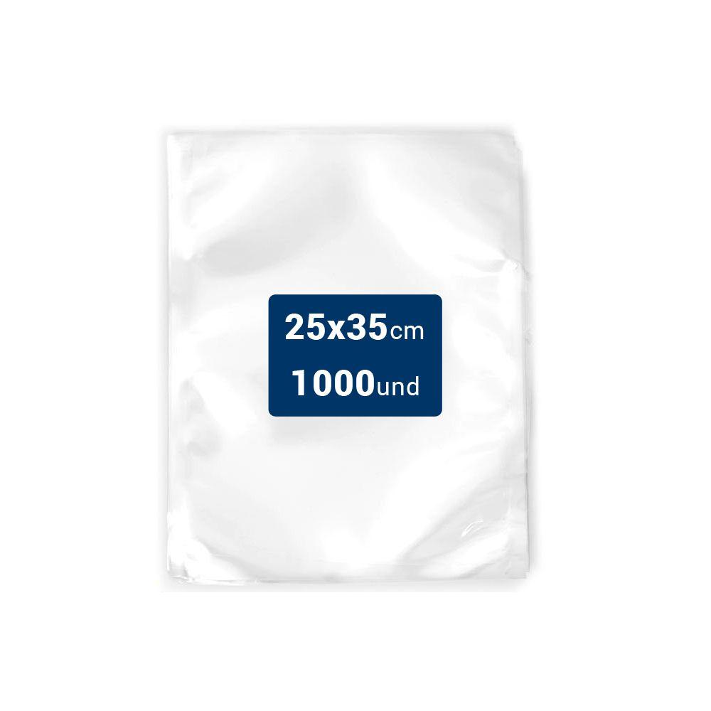 Embalagens a Vácuo lisa 25x35x12 - 1000 und