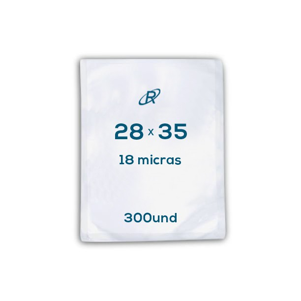 Embalagens a Vácuo lisa 28x35x18 - 300 und