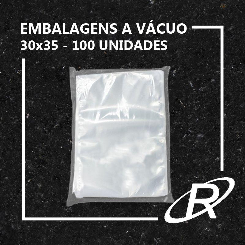 Embalagens a Vácuo lisa 30x35x12 - 100 und