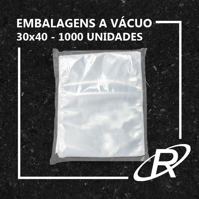 Embalagens a Vácuo lisa 30x40x12 - 1000 und