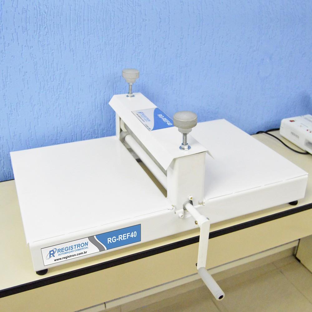 Máquina de Corte e Vinco para Fazer Máscara RG-REF40