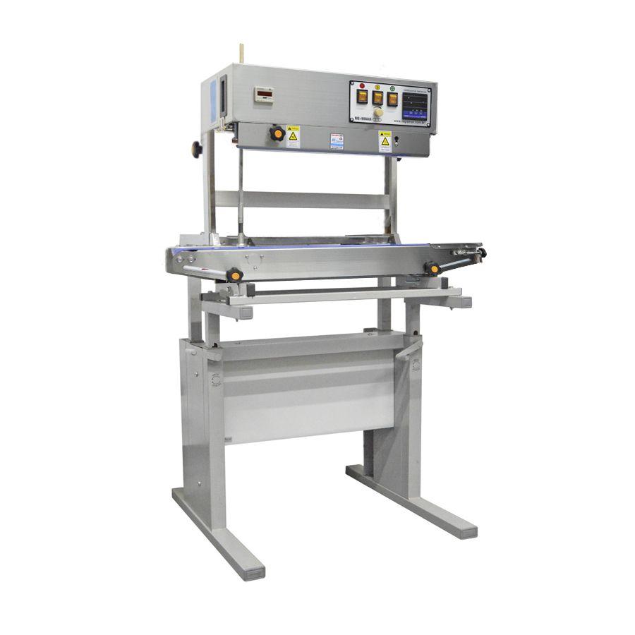 Seladora Automática Contínua Vertical Em Inox RG-900ASV com Mesa Regulável