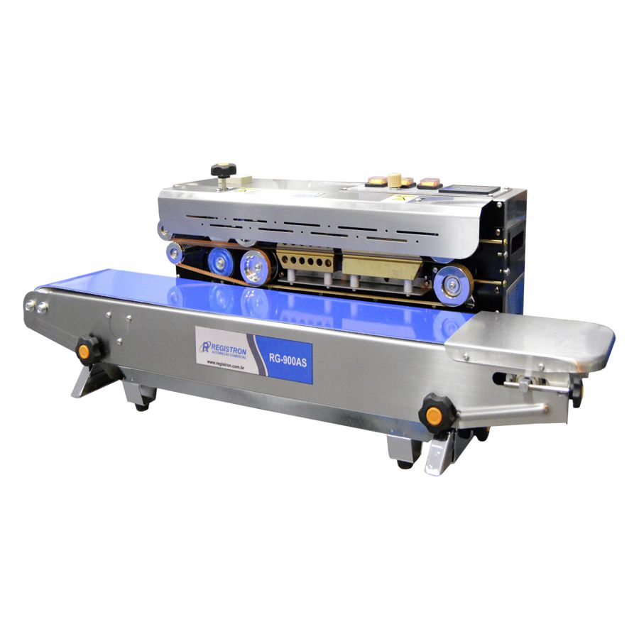 Seladora Automática Contínua Horizontal Em Inox RG-900AS