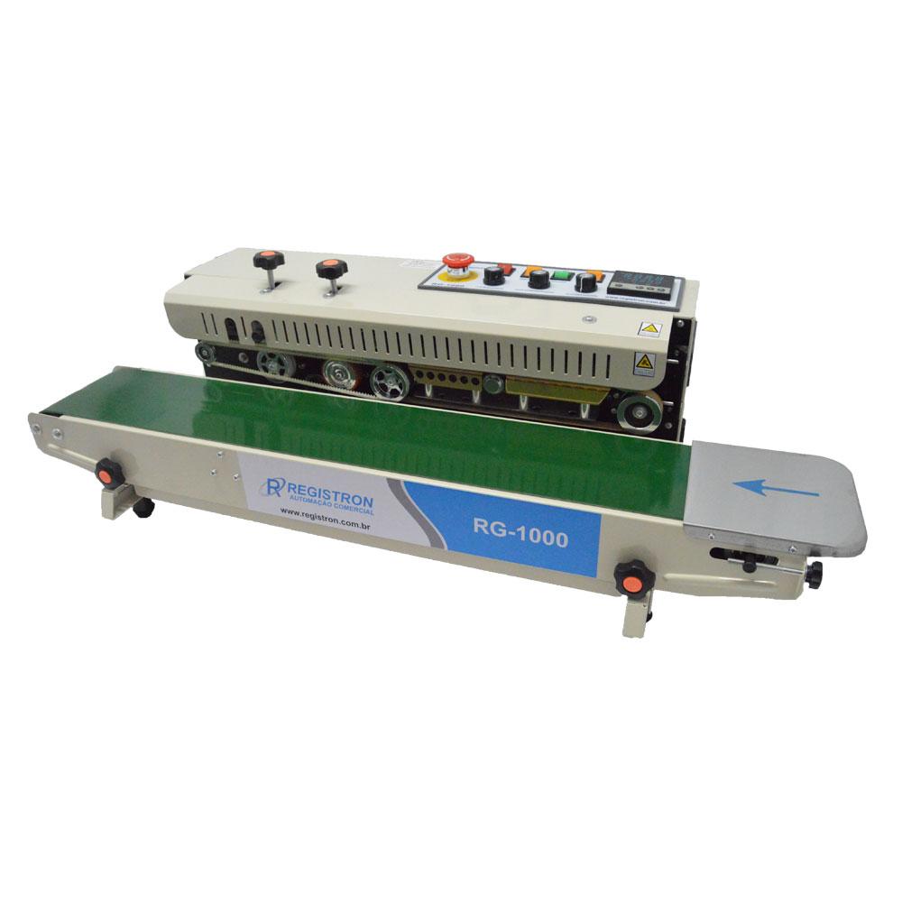 Seladora Automática Continua Horizontal Com Datador RG-1000
