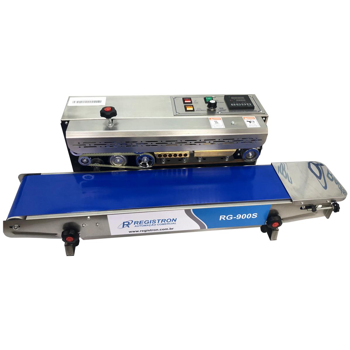 Seladora Automática Contínua Horizontal Em Inox RG-900S