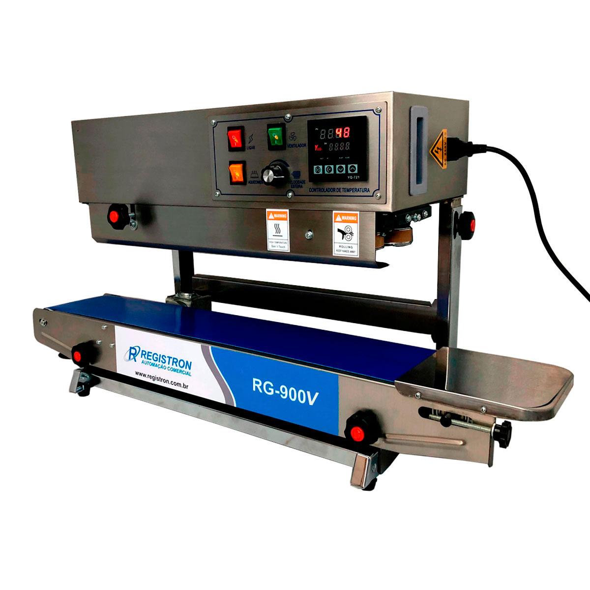 Seladora Automática Contínua Vertical Em Inox RG-900V