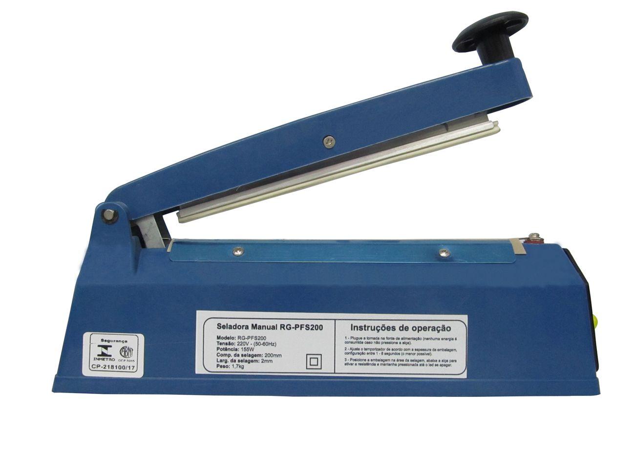 Seladora Manual RG-PFS200 - 110V