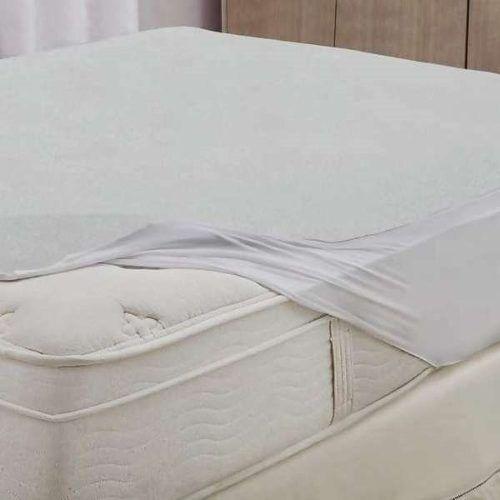 04 Protetor Colchão Solt. Impermeável + 04 Capas Travesseiro