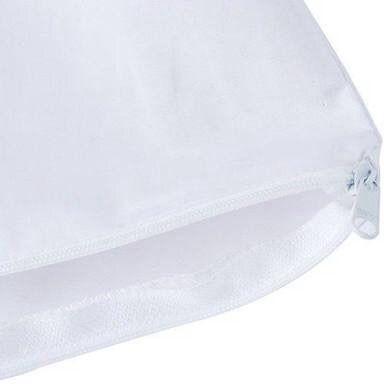 Protetor Capa De Travesseiro Impermeável Antiácaro Com Zíper