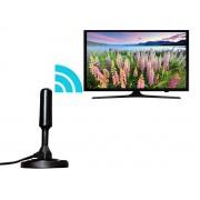 Antena Digital HDTV 360° Interna/Externa 3,5 Dbi Cabo 4,3m