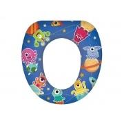 Assento Redutor Sanitário Infantil Acolchoado - Menino