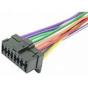 Chicote Plug Conector Rádio Cd Pioneer 1150/1350/1450/2150