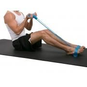 Elástico de Tensão Apoio Pés Extensor Exercícios Musculares
