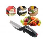 Tesoura De Cozinha Inox Multiuso 2x1 Carnes Legumes Verduras