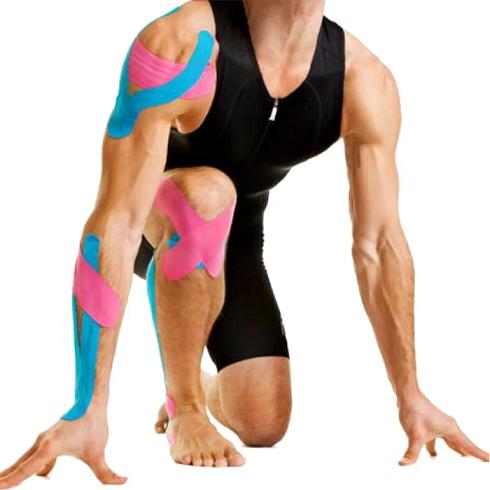 Bandagem Elástica Fita Adesiva Neuromuscular 5m X 5cm