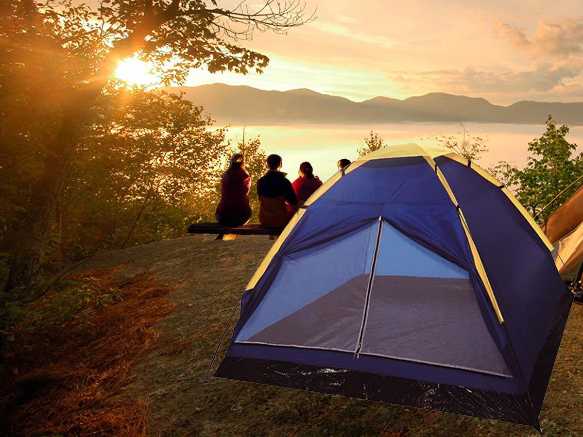 Barraca de Camping Acampamento Tipo Iglu 2 Pessoas Importway