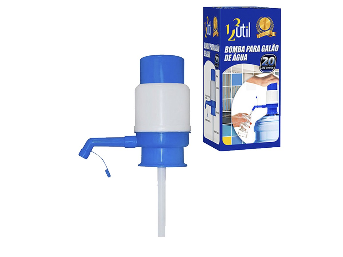 Bomba Manual P/  Galão Garrafão Água Mineral 10l E 20L