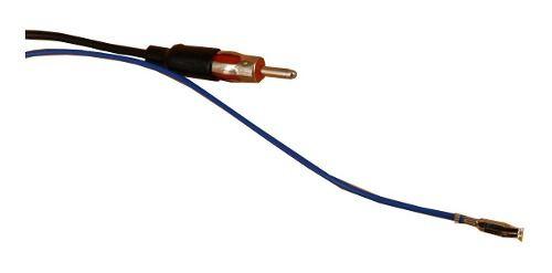 Cabo Antena Plug Adaptador Radio Honda City Fit Hrv 2015 - Cor Preto