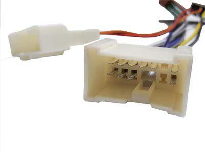 Chicote Conector Plug Som CD E DVD Renault Logan Sandero