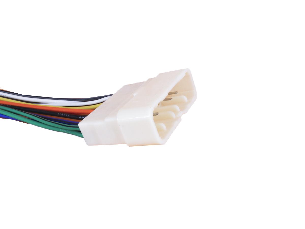 Chicote Para CD Plug Adaptador Conector Radio Chevrolet S10