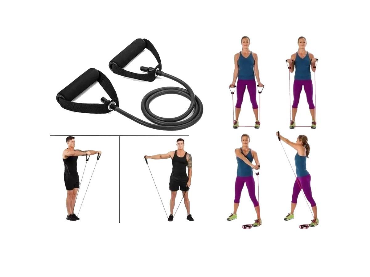 Elástico Extensor de Tensão Para Exercícios Biceps Perna