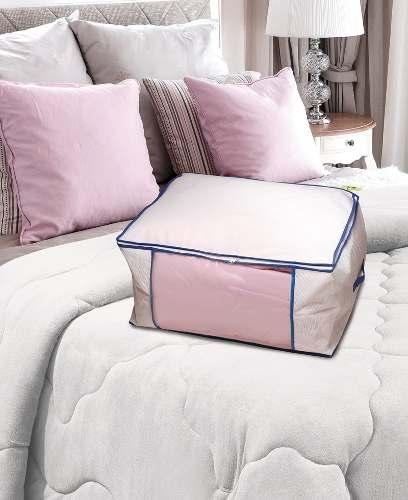 Kit 19 Saco Organizador Closet Edredon Cobertor C/ Ziper G