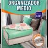 Kit 06 Saco Organizador Closet Edredon Cobertor C/ Ziper M