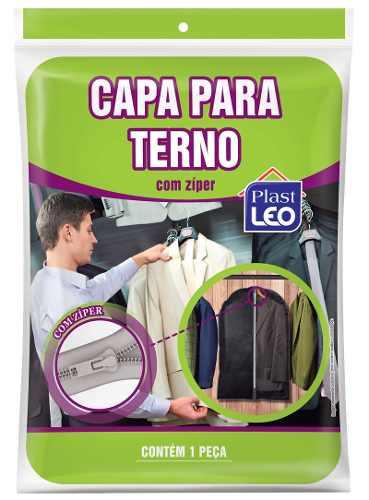 Kit 18 Capa Protetora De Terno C/ Zíper 96x58 Alta Qualidade