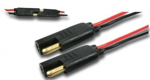 Kit 20 Conector Chicote 2 Vias Reforçado Fio 1mm  Anti-erro