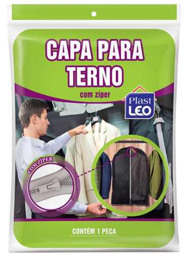 Kit 24 Capa Protetora De Terno C/ Zíper 96x58 Alta Qualidade