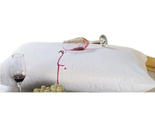 Kit Capa Impermeável Colchão (2) Solteiro E (4) travesseiro