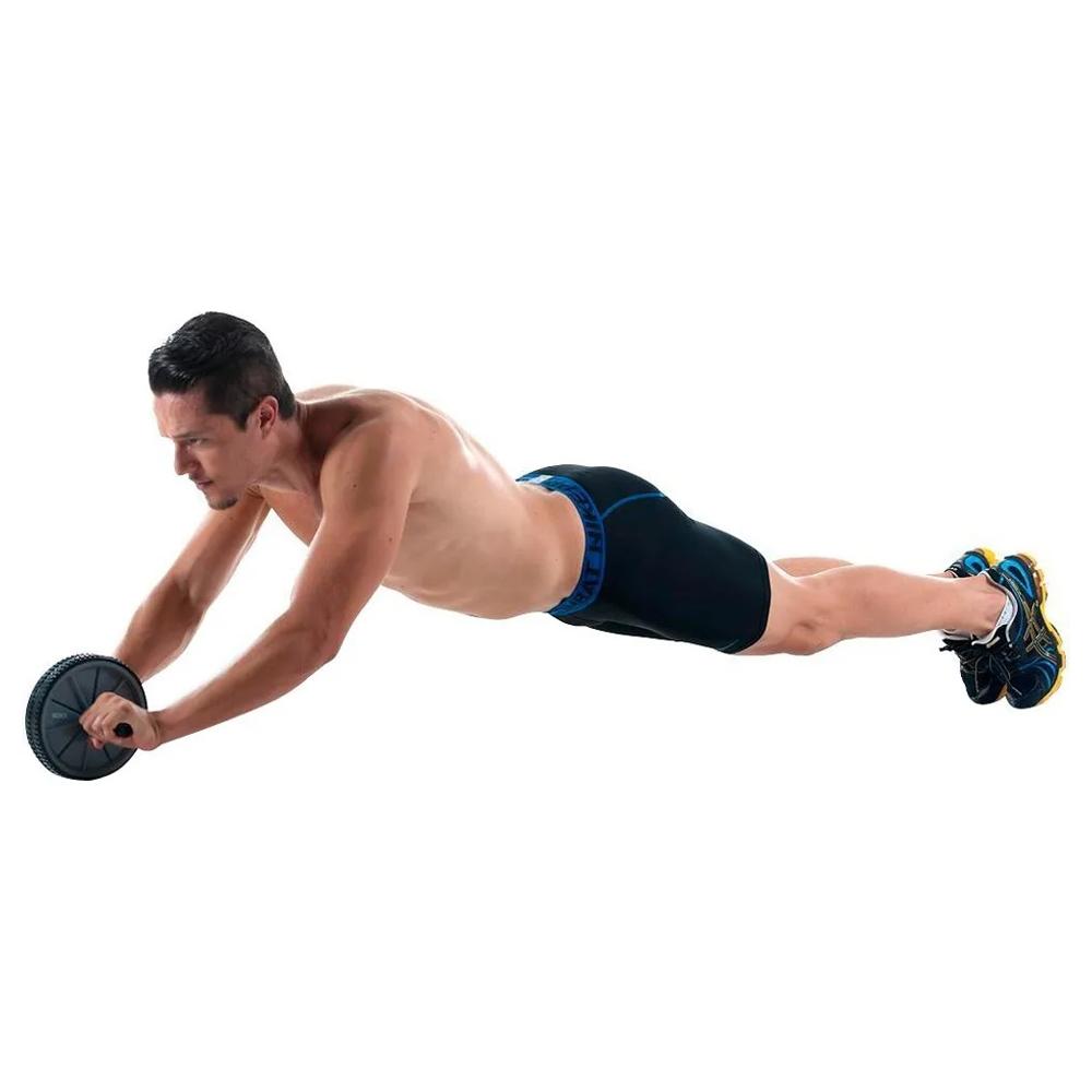 Roda Abdominal Rolo De Exercícios Lombar Fitness Academia