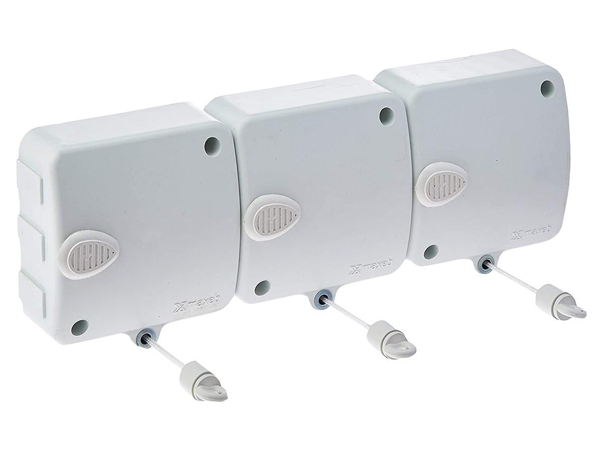 Varal Modular Retrátil 6 Mts Automático 03 Módulos Stendmax