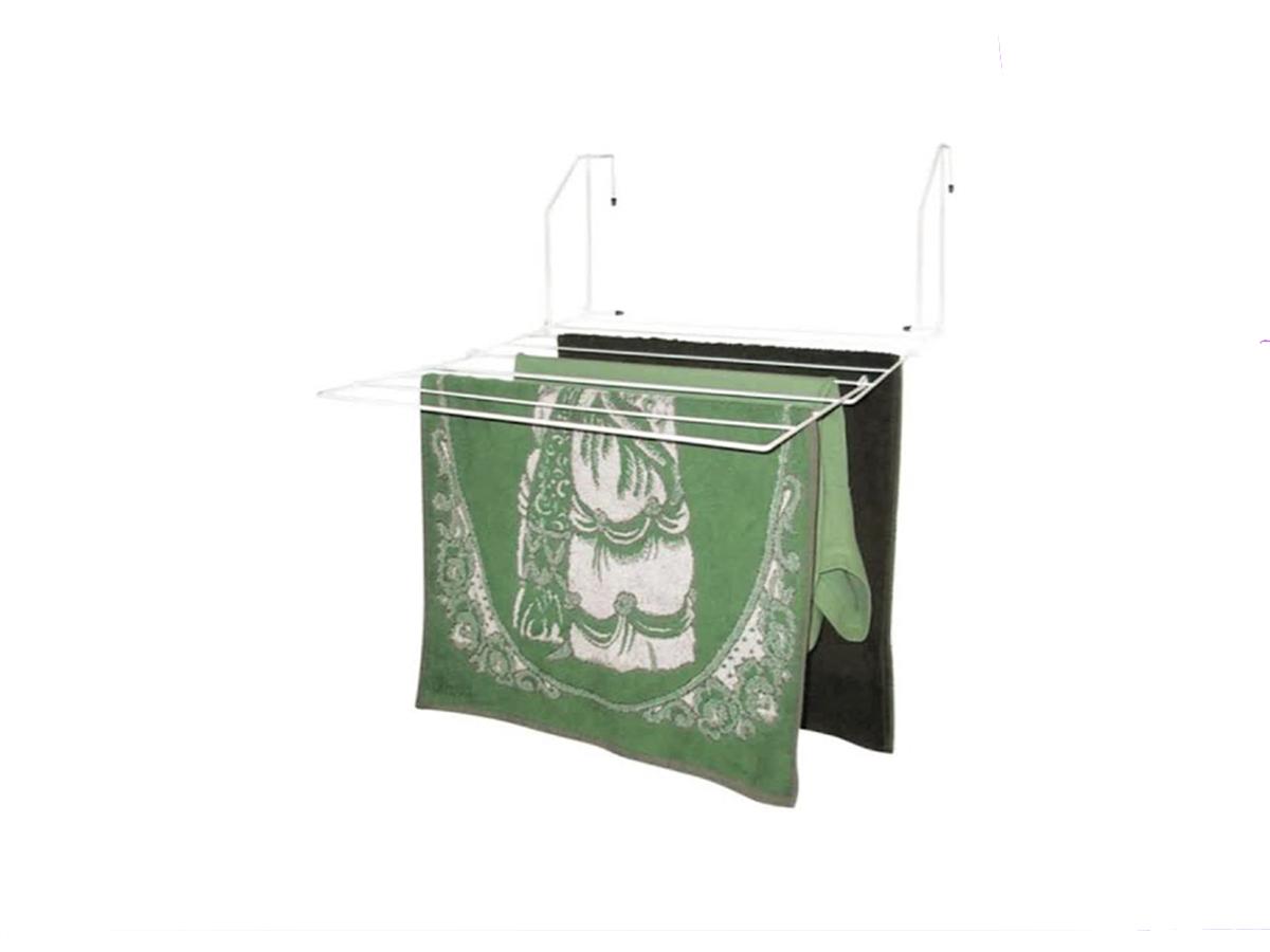 Varal Portátil Balcony 50x44cm Em Aço - Porta  Box  Janela