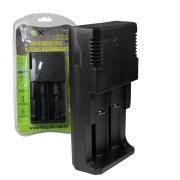 Carregador de Baterias 18650 18500 22650 26550 Flex FX-C09