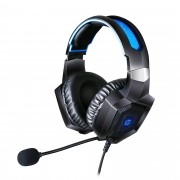 Headset Gamer USB + P2 H320 Preto HP