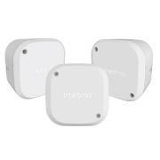 Kit 3 Caixas de Passagem Câmera CFTV VBOX 1100 Intelbras