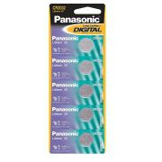 Kit 5x Baterias CR2032 3V Panasonic