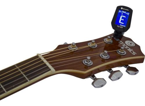 Afinador Guitarra Cromático + Cordas .010 Giannini GEEGST10