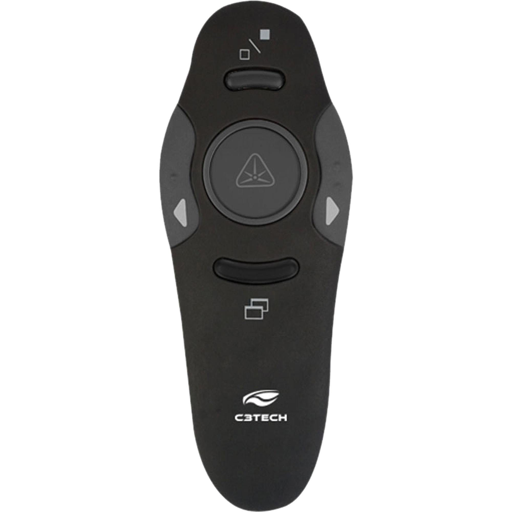 Apresentador Laser Wireless AP-400 Preto C3TECH