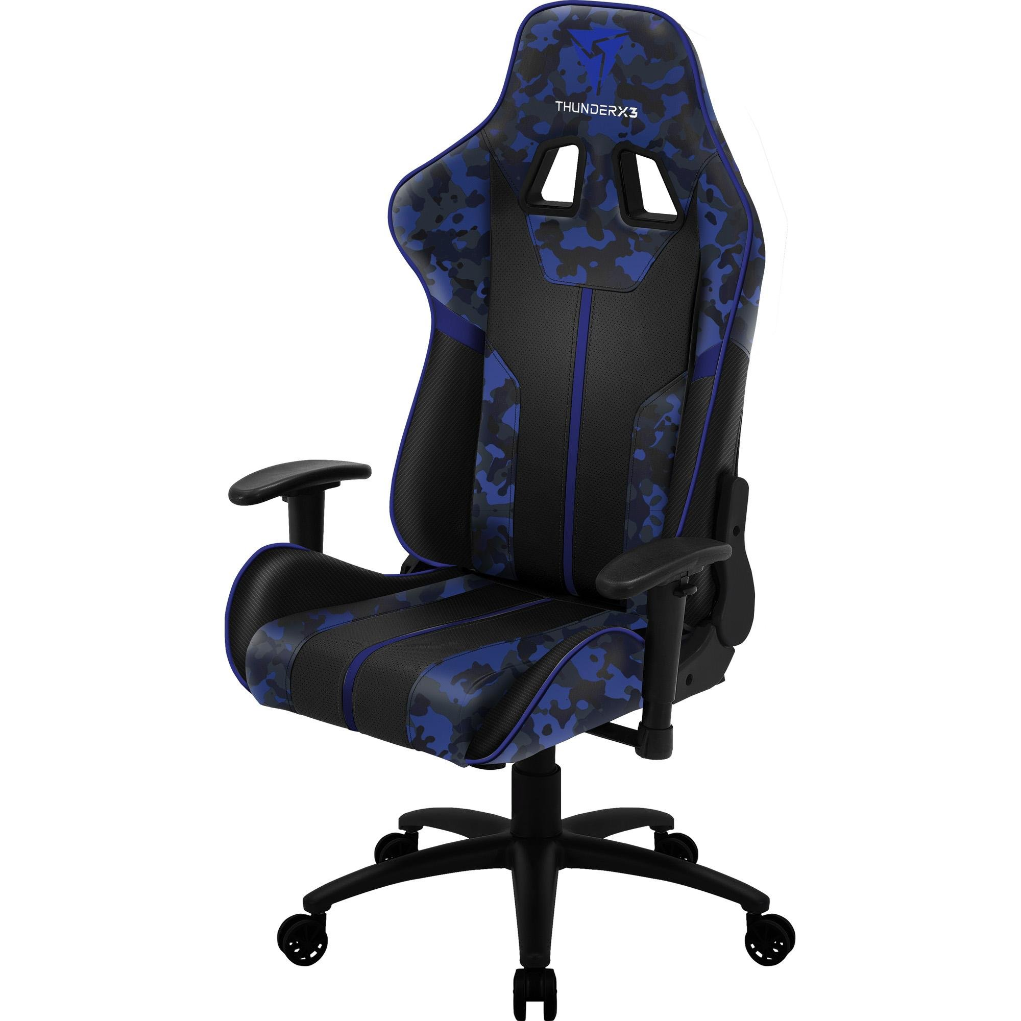 Cadeira Gamer BC3 CAMO/AZ Admiral THUNDERX3
