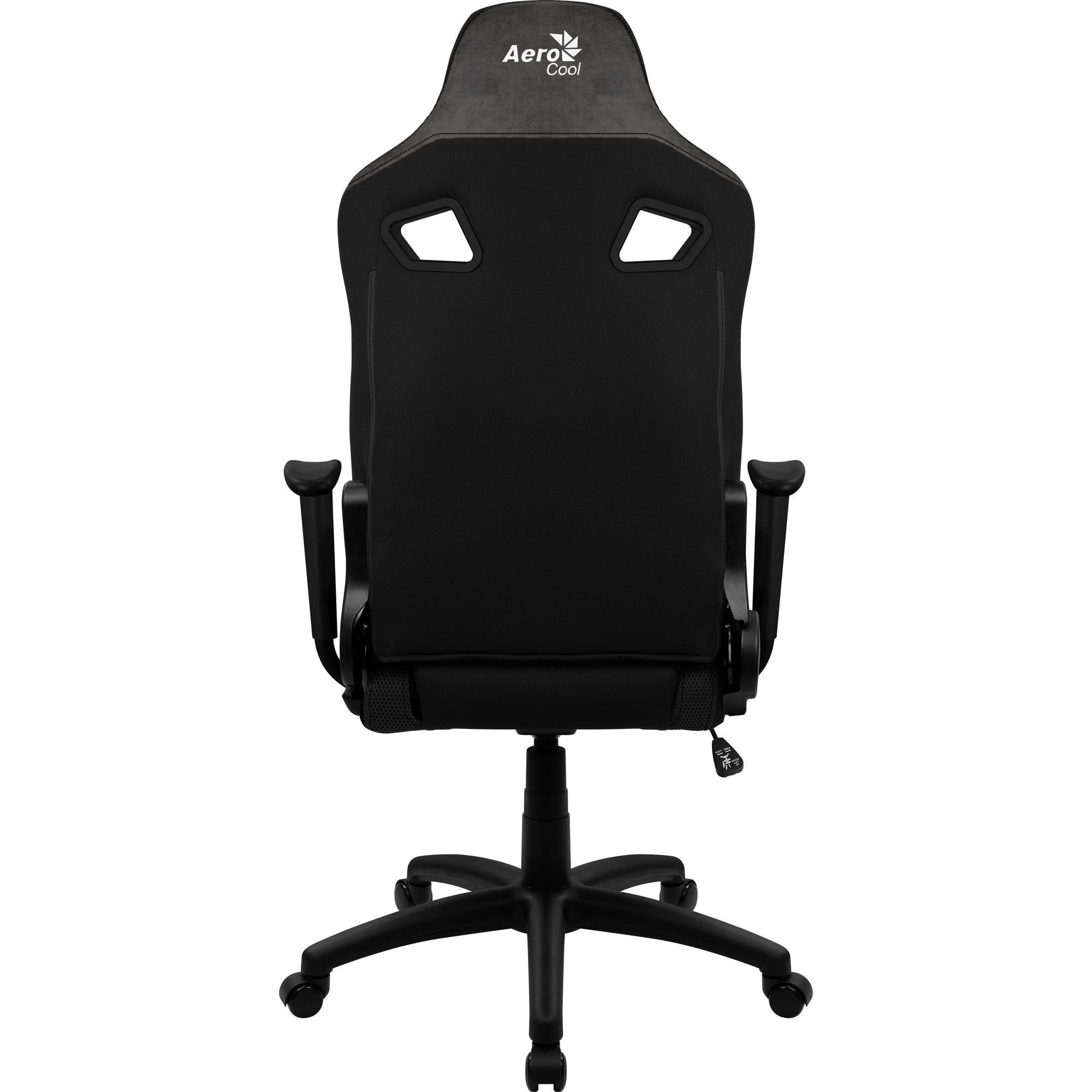 Cadeira Gamer Count Iron Black AEROCOOL