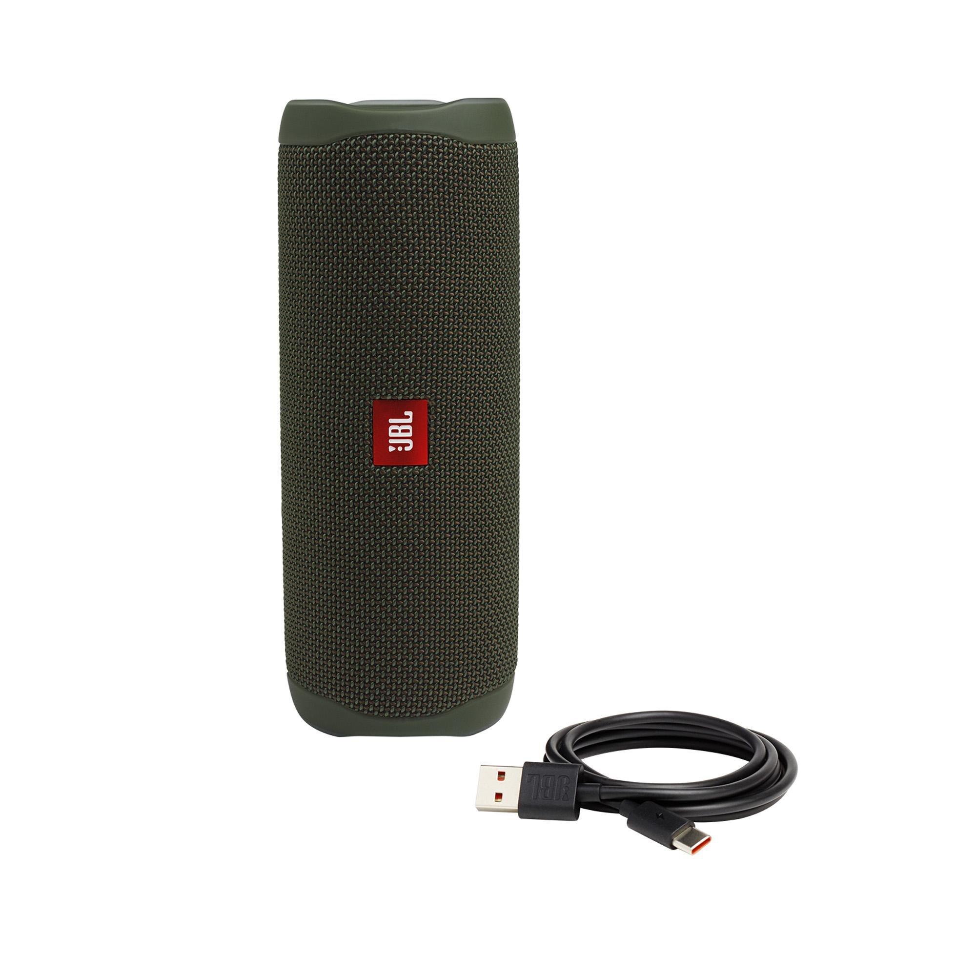 Caixa Multimídia Portátil Bluetooth FLIP 5 Verde JBL