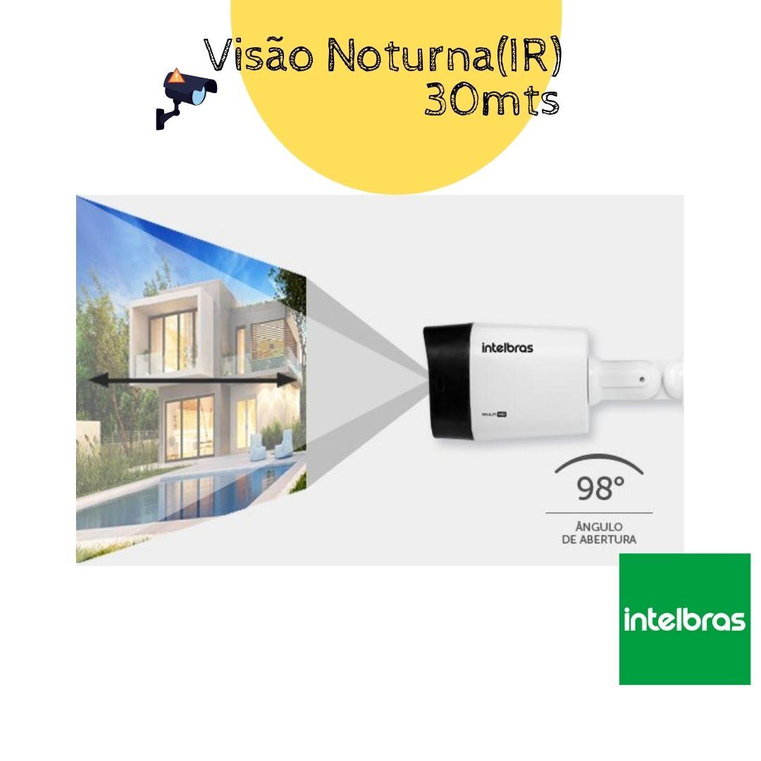 Câmera de Segurança Full HD Intelbras VHD 3230 B G6 HDCVI